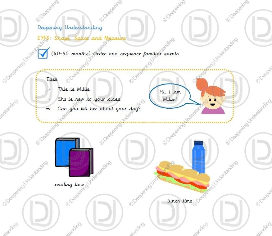EYFS Ordering Events