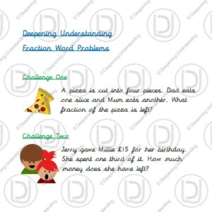 Year 2 - Fraction Word Problems