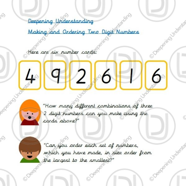 Year 2 - Two-Digit Numbers and Ordering