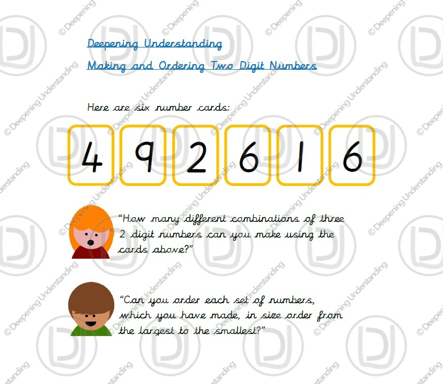 Year 2 – Two-Digit Numbers and Ordering