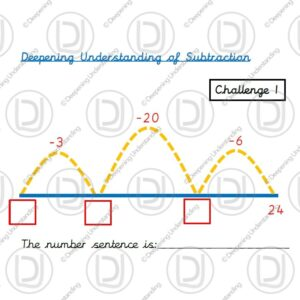Year 2 - Subtraction on a Number Line