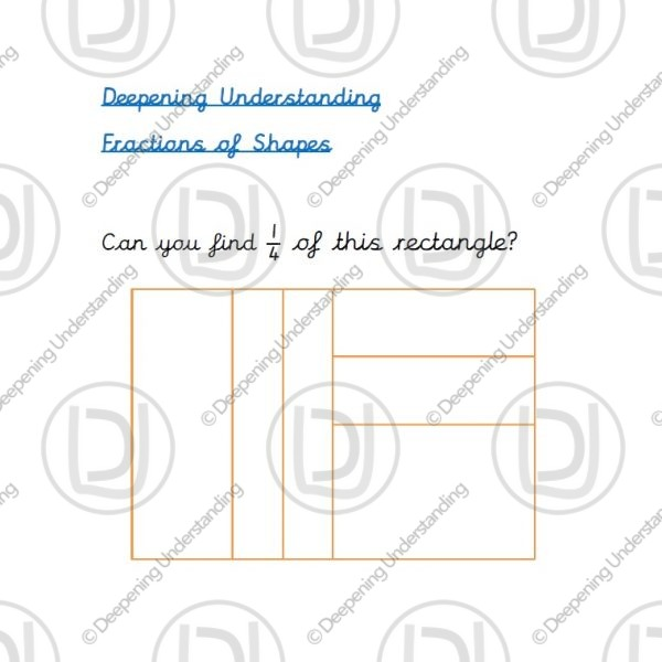Year 2 - Fractions of Shapes
