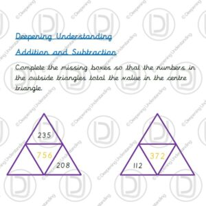 Year 3 - Addition and Subtraction Pyramids