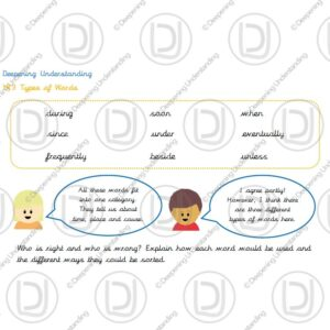 Year 3 - Adverbs, Conjunctions and Prepositions