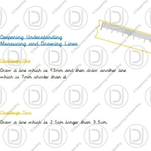Year 3 - Measuring and Drawing Lines