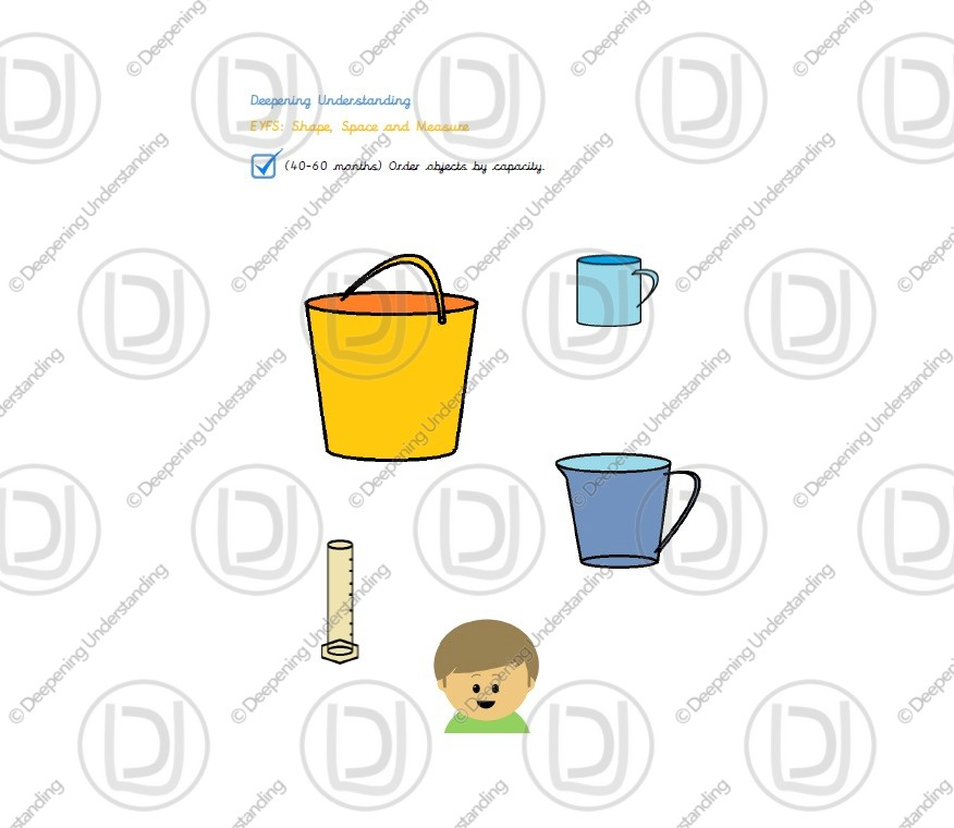 EYFS – Capacity of Objects