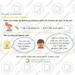 Year 1 – 'and' to extend and join sentences