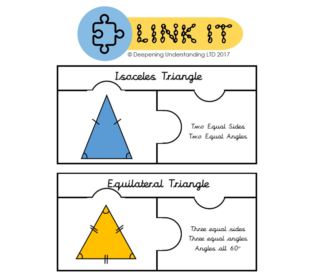 Year 4 Triangle Types – Link It!