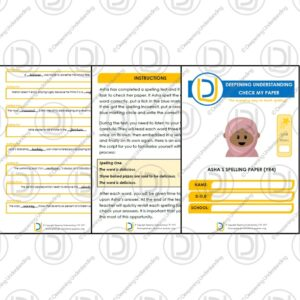 Year 4 Spelling Practice – Check My Paper 1