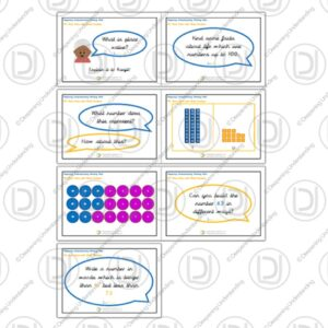 YR2 Working Wall – Place Value with Whole Numbers