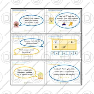 YR3 Working Wall – Multiplication and Division
