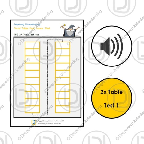 YR2 Torrid Tables – 2x Table Rapid Recall Test 1