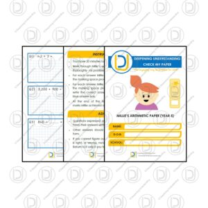 Year 5 Arithmetic Check My Paper – Millie