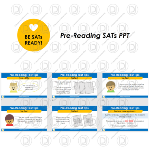 YR6 Pre-Reading SATs PowerPoint