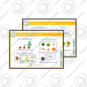 YR1 Science Depth Tasks – Plants