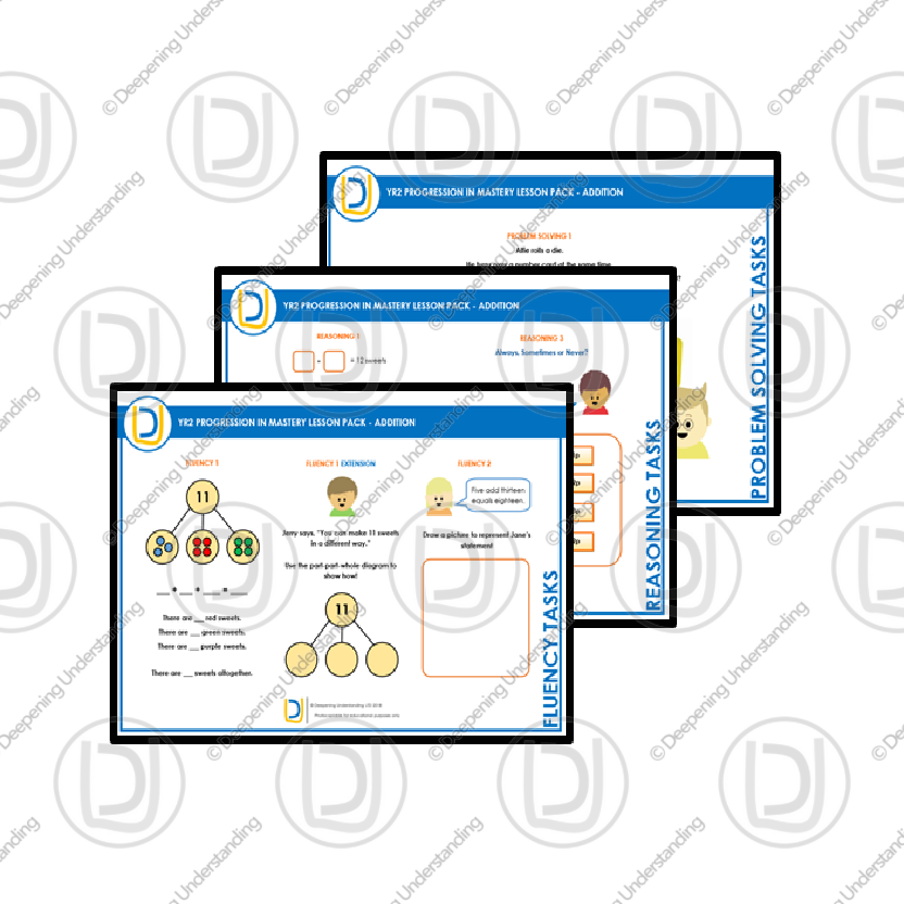 YR2 Progression in Mastery Pack – Addition